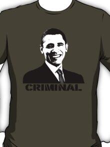 Obama: Criminal T-Shirt