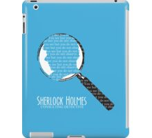 You see but you do not observe. iPad Case/Skin
