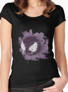 Graffiti Gastly  Women's Fitted Scoop T-Shirt