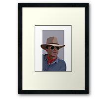 Dr. Grant Framed Print