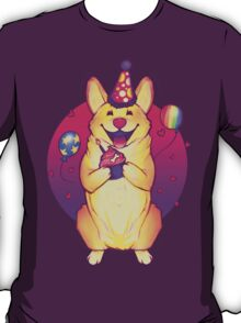 Birthday Corgi! T-Shirt