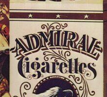 Vintage poster - Admiral Cigarettes Sticker