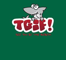 TGIF - See you at the beach Shark Unisex T-Shirt
