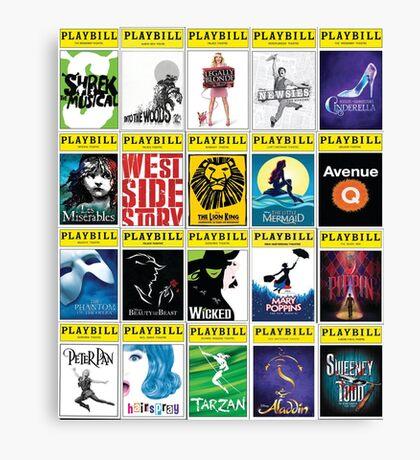 Broadway Greats Canvas Print