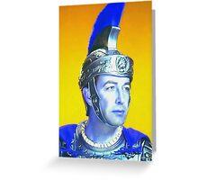 Robert Taylor in Quo Vadis? Greeting Card