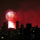 Independence Day Fireworks, New York City  by Alberto  DeJesus