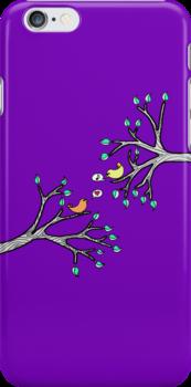 iPhone Birdies by eleveneleven