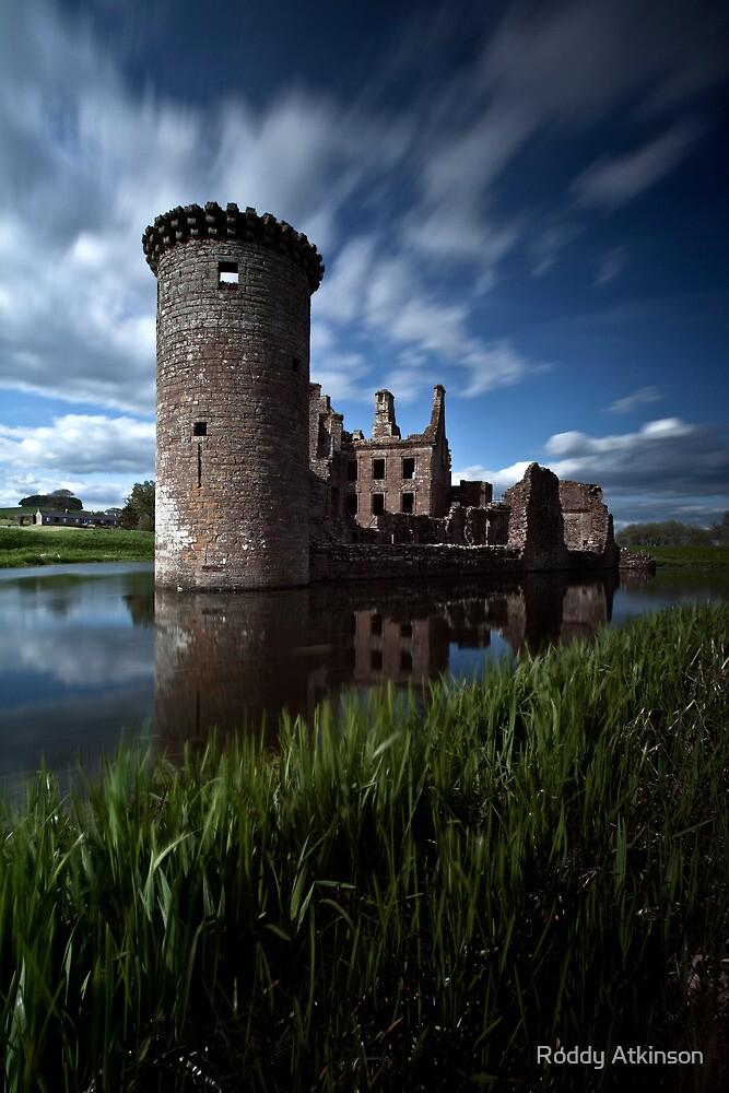 Caerlaverock Castle by Roddy Atkinson