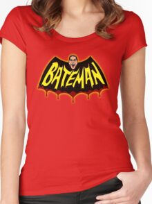 BateMAN! Women's Fitted Scoop T-Shirt