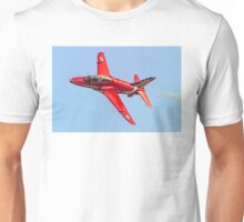 Red Arrows Hawk T.1 with anniversary paint job Unisex T-Shirt