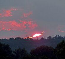 Spectacular Sunset by Susan S. Kline