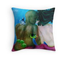 Living in the Sunlight Throw Pillow