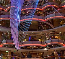 In the Centrum of Radiance of the Seas by Gerda Grice
