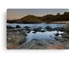 Tacking Point Canvas Print