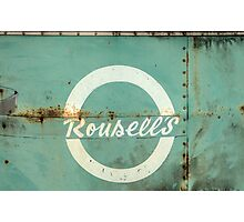 Rousell's bus Photographic Print