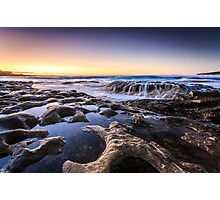 Maroubra Waterfall Photographic Print