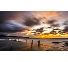 Wylies Baths, Coogee Photographic Print