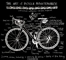 The Art of Bicycle Maintenence  by CYCOLOGY
