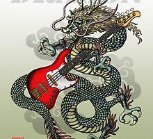 Dragon BassGuitar by kuuma