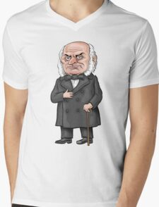 President John Quincy Adams Mens V-Neck T-Shirt