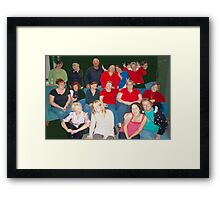 Best nutty group pic Framed Print