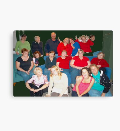 Best nutty group pic Canvas Print