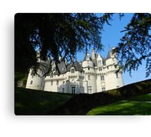 Chateau d'Usse Canvas Print