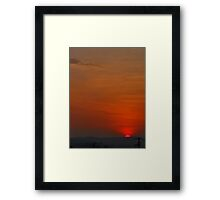 ©HCS Live For See The Rising Sun I Framed Print