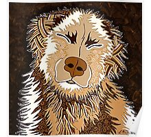 SEPIA DOG Poster