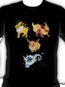 Graffiti Eeveelution, First Gen T-Shirt