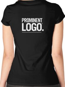 [prominent logo]® Women's Fitted Scoop T-Shirt