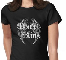 Don't Blink 2 Womens Fitted T-Shirt