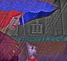 Coffee Under The Umbrella by Jane Neill-Hancock