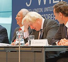 Boris Johnson At 9th World Islamic Economic Forum by Keith Larby
