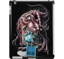 T Rex Eat Police Box iPad Case/Skin