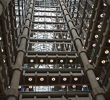 Lloyd's Insurance building in  London by Keith Larby