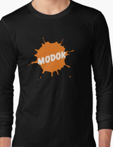 M.O.D.O.K. is a genius!! Long Sleeve T-Shirt