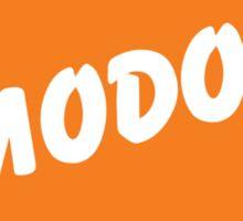 M.O.D.O.K. is a genius!! Sticker