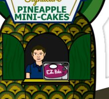 Shawn's Pineapple Cakes Sticker
