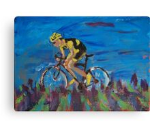 Cycling  Canvas Print