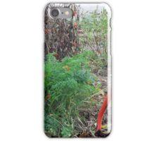 Red Shovel iPhone Case/Skin