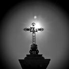 Sun Kissed Cross by KarenLindale
