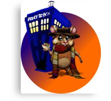 Doctor Who Hamster Jelly baby? Canvas Print
