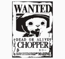 Chopper Wanted Poster by Anuktoy