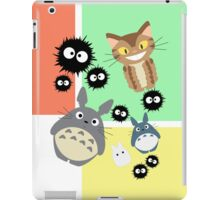 Totoro and Friends iPad Case/Skin