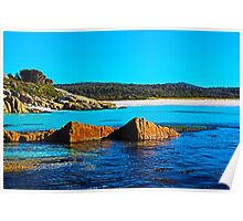 What a Beautiful Day, Cosy Corner, Tasmania Poster