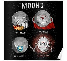 Supermoon Characters Poster