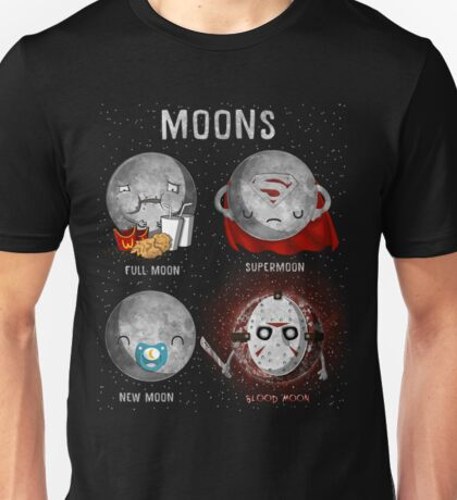 Supermoon Characters Unisex T-Shirt