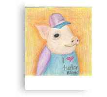 Turkey Bacon Canvas Print
