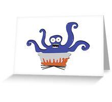 Hot Stuff Greeting Card